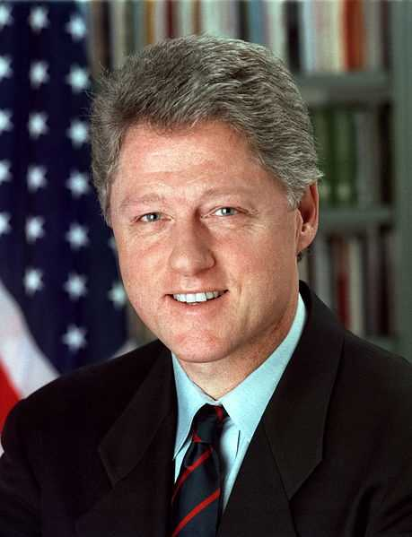 Pres. Bill Clinton. Hope.