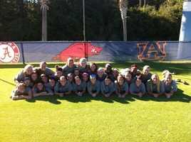 University of Arkansas Women's Soccer Team