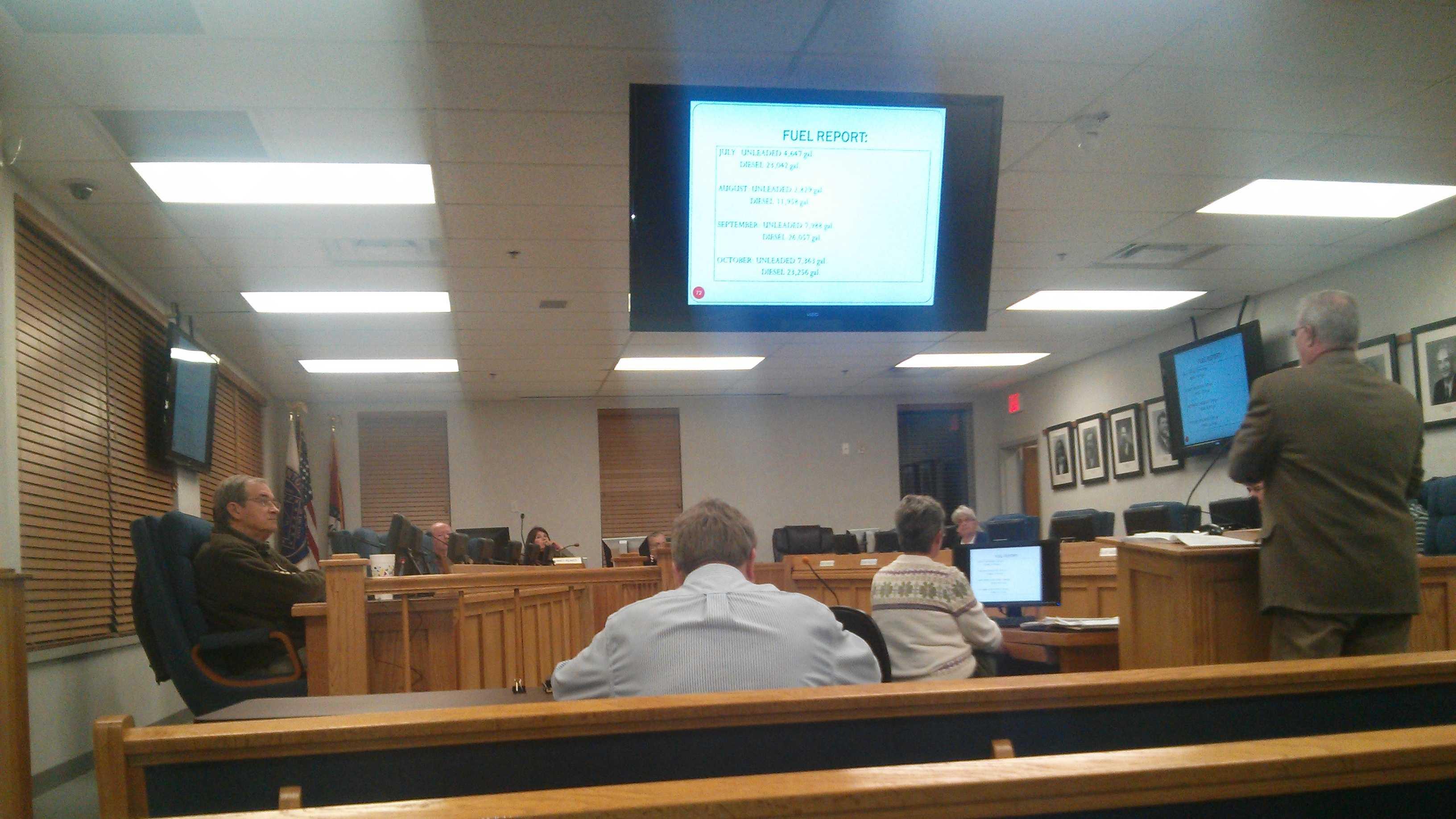 Transportation department officials amend bridge repair record filing system