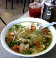 Pho soup at Pho Vietnam Restaurant in Fort Smith