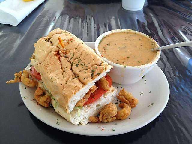 Soup at Café Rue Olreans in Fayetteville