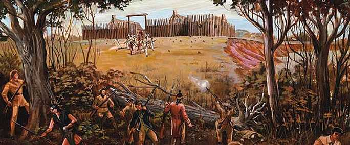 The Battle of Arkansas Post was fought in 1783. The British attacked the fort held by our Spanish allies.