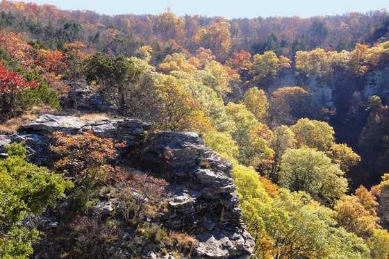 What is the tallest mountain in Arkansas?