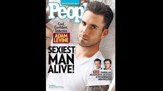 Adam Levine, People cover