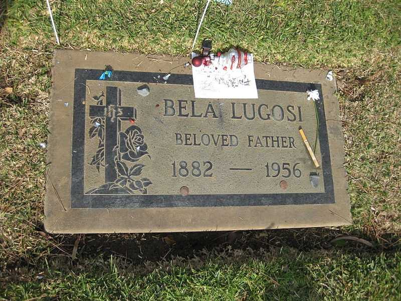 Bela Lugosi was so well-known for his role as Universal's Dracula, he was buried wearing a vampire cape costume.