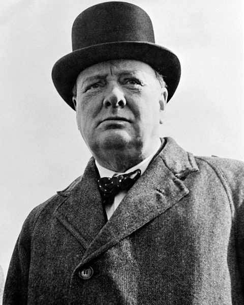 Winston Churchill was made an honorary citizen of Universal City.