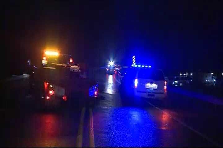 Accident on the highway 59 bridge.