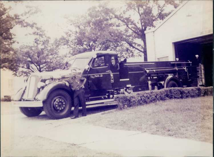Engine #2 in the 1950's.