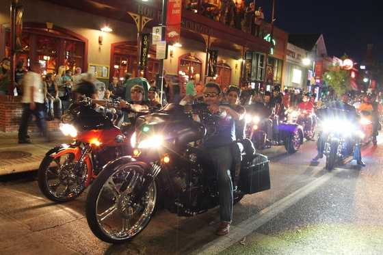 Bikes, Blues & BBQ in 2013.