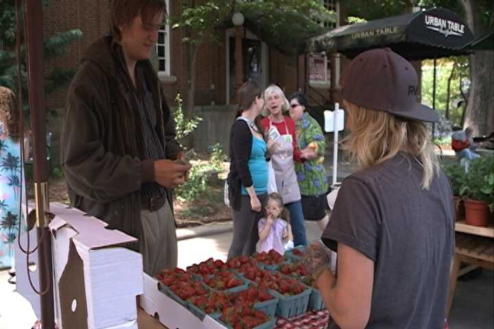 The Farmers Market in 2013.