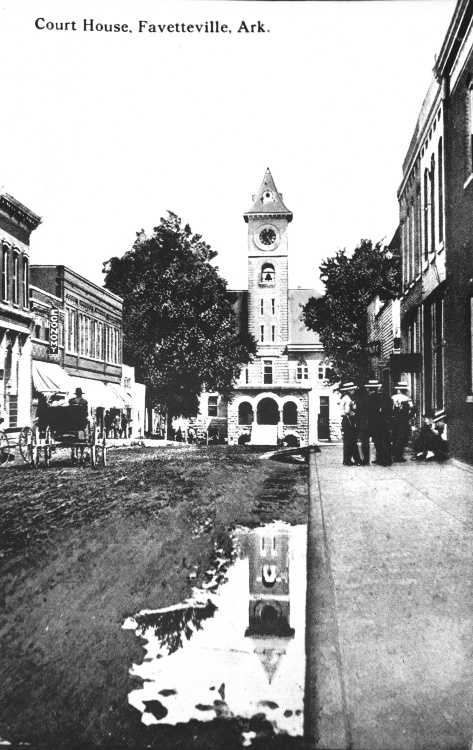 The Washington County Courthouse in 1904.