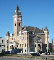 The courthouse in 2011.
