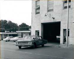 Fire Station #1 in the late 1950's.