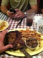 Doe's Eat Place in Fayetteville and Bentonville