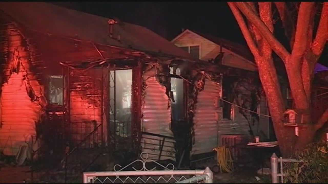 Firefighters respond to a house fire overnight and rescue a woman and her son from the burning home. Both were transported to a local hospital and the mother has been stabilized.