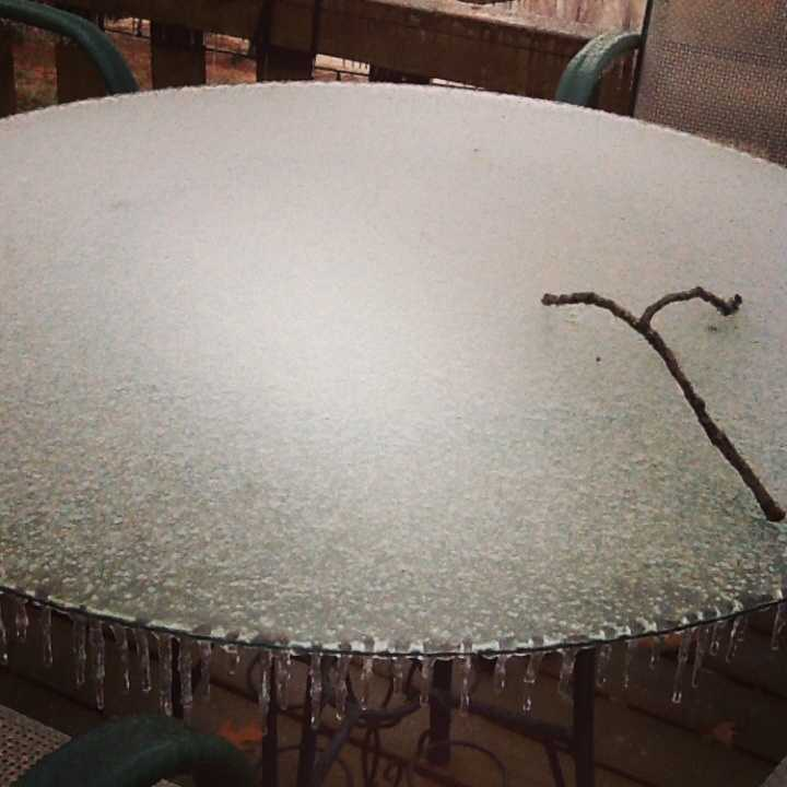 Fort Smith ice table
