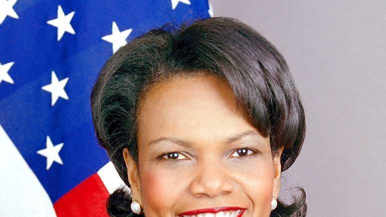 most admired - Condoleezza Rice