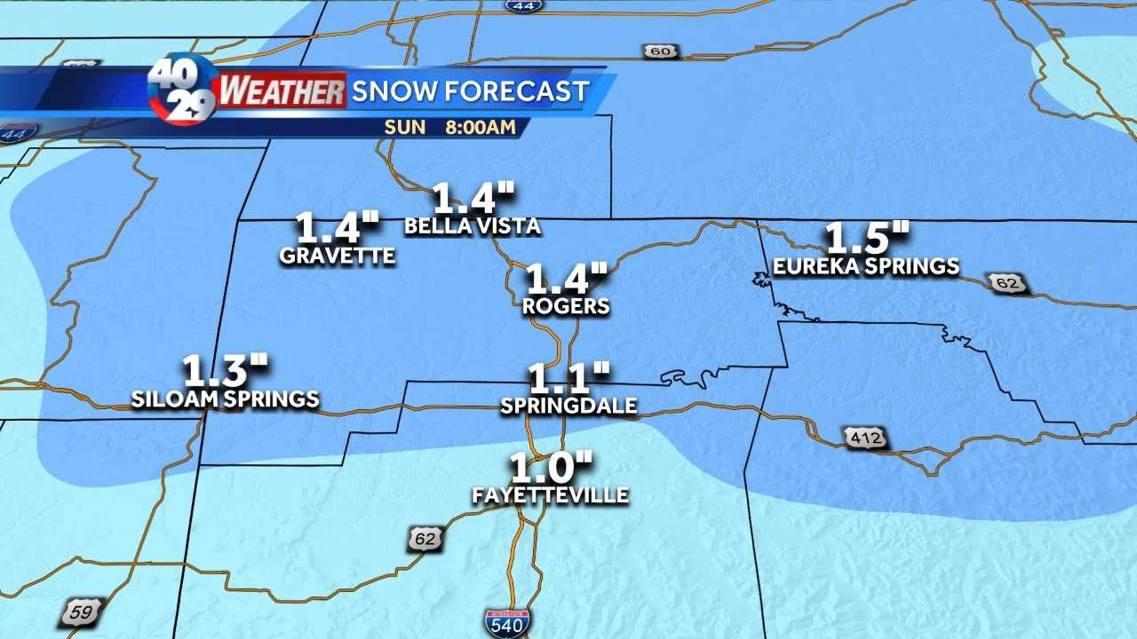 It's another bout of winter weather headed our way. And this one could leave us with some light accumulations across the area.