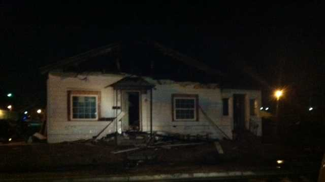 Pastor hurt in Fort Smith house fire