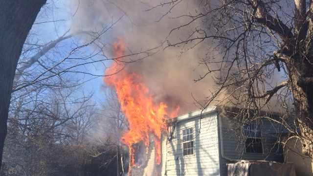 Five fire departments work to extinguish Washington County house fire