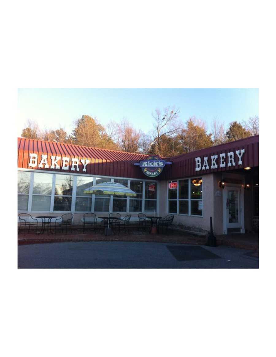 Rick's Bakery: $25, 268