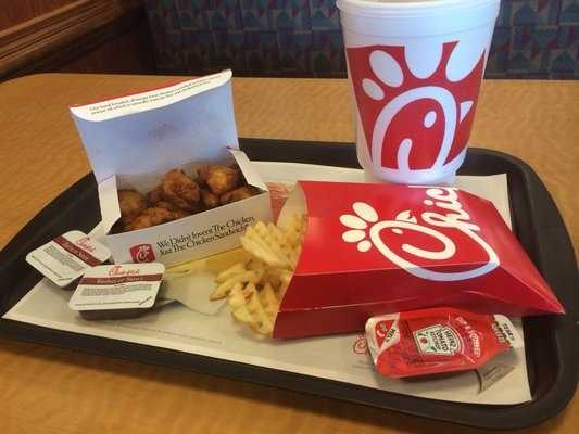 Chick Fil A: $30, 890For the full list of top restaurants, click here.