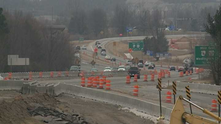 I-540 construction cound hinder winter weather cleanup