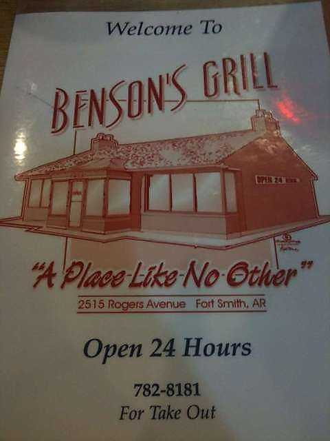 Benson's Grill in Fort Smith: Turtle Cheesecake