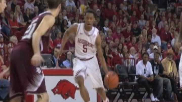 Arkansas guard Anthlon Bell