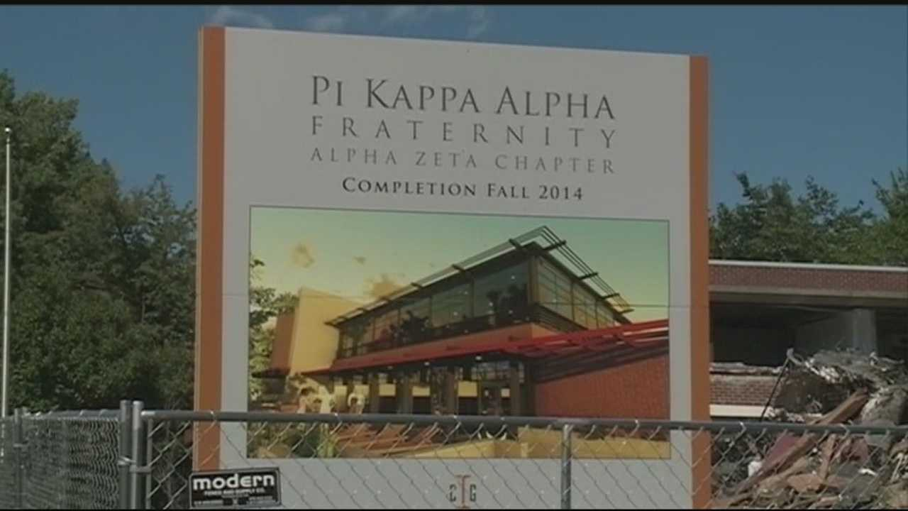 The leaders of the Pi Kappa Alpha fraternity at the University of Arkansas have been asked to quit.  Investigators say members held a party on MLK Day that included racial stereotypes.