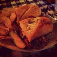 Steak Sandwich Hugos, Fayetteville