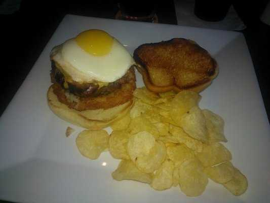 The Hangover Burger, Farrell's Lounge Bar & Grill, Fayetteville