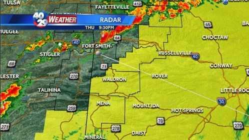 9:30 radar update (tornado watch)