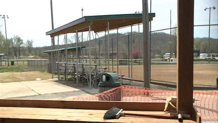 Youth baseball teams in Fayetteville will be able to enjoy the use of the fields at Walker Park with a few additions just in time for the first pitch of the season.