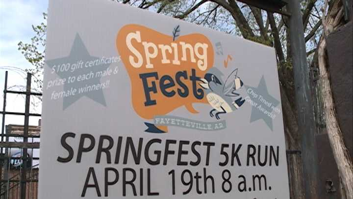 Springfest starts Saturday in Fayetteville. And this time around, the weather looks to cooperate better than it did last year when snow delayed the event.