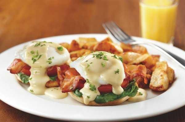 Eggs Florentine Benedict, Mimi's Cafe-Rogers