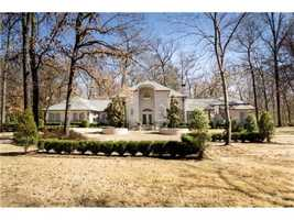 This home located at 3305 Leighs Hollow Lane is four bedroom, four baths and almost 5,000 square feet.