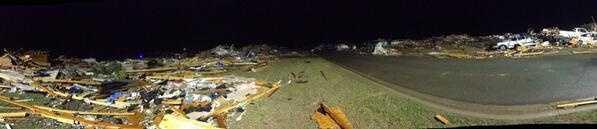 Neighborhood destroyed in Vilonia