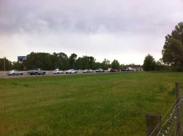 Traffic in Mayflower