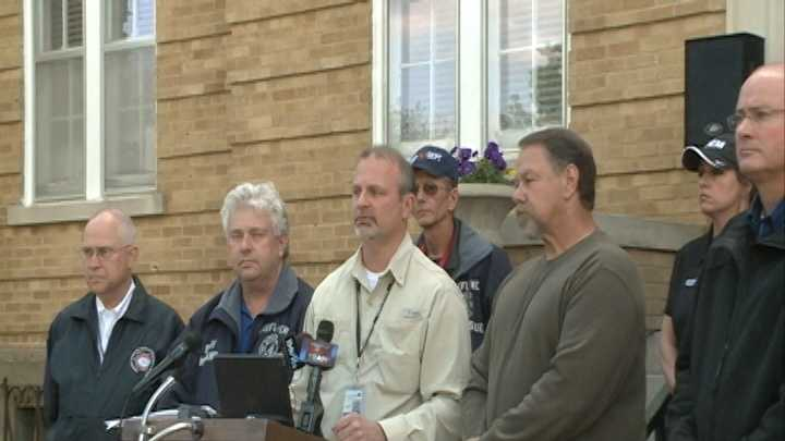 Officials provide update on disaster relief in Faulkner County