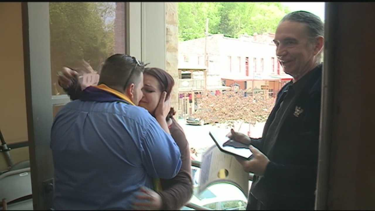 Carroll County issues marriage licenses, some couples married