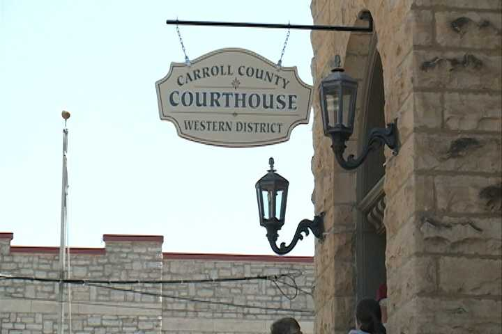 May 12: Carroll County clerk suspends giving marriage licenses to same-sex couples.