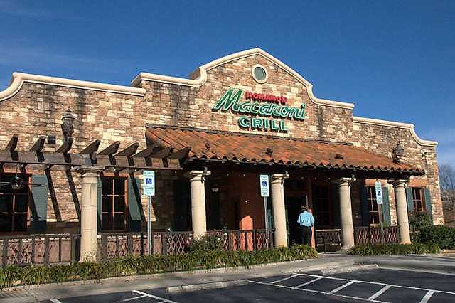 Macaroni Grill- For both the River Valley and Northwest Arkansas.