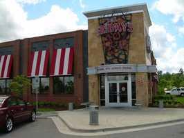 T.G.I. Friday's- For Northwest Arkansas.