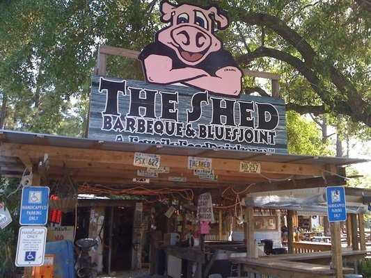 The Shed BBQ and Blues- For both the River Valley and Northwest Arkansas.