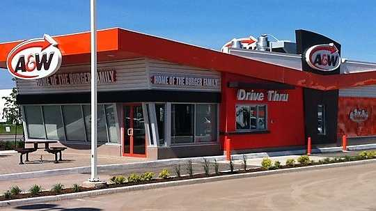 A&W Burgers- For the River Valley.
