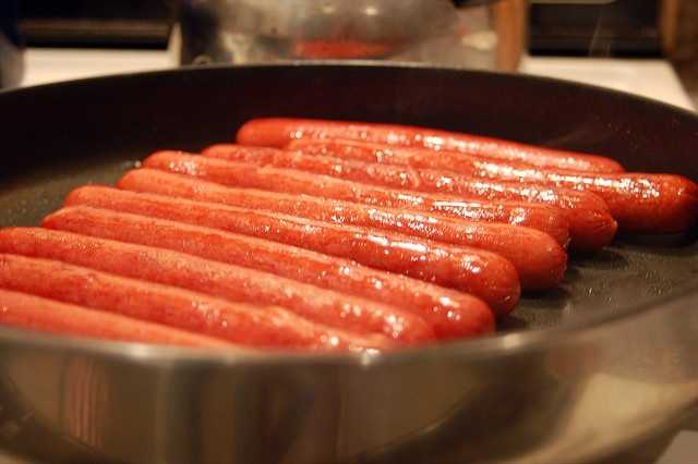 Fooducate.com did the math and says the average American eats 50 hot dogs every year.