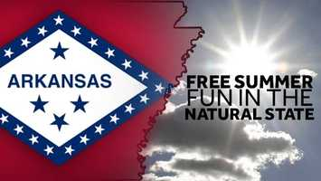 Arkansas has a lot to offer for you and the whole family this summer. From museums to movies, from trails to top tourist destinations, 40/29 has compiled a list of free and fun activities for your summer bucket list.