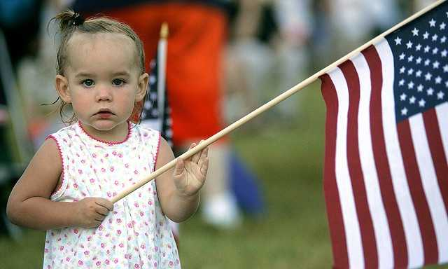 8. Talk to your kids about why we celebrate Memorial Day. Teach your children to sing the Star Spangled Banner.