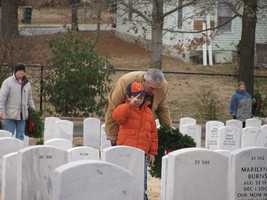 9. Pay your respects at a national veteran's cemetery. Many hold Memorial Day ceremonies. Find them in your area here.